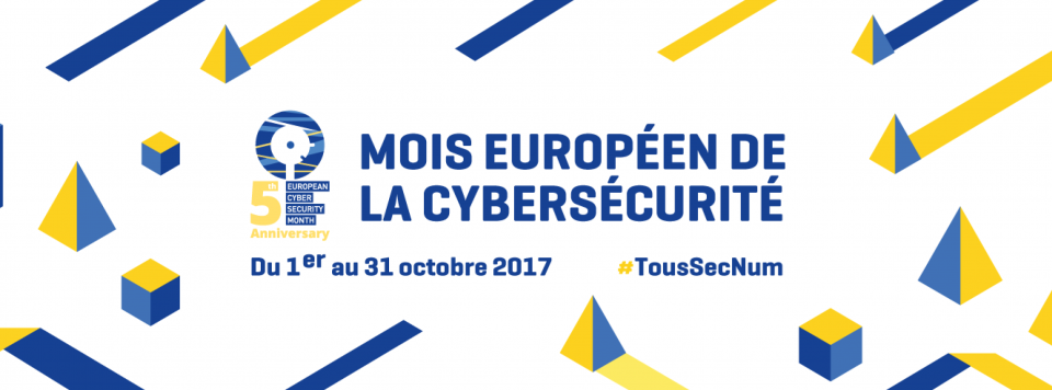 Le Mois européen de la cybersécurité